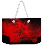 Lava Fountain Weekender Tote Bag