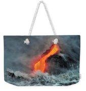 Lava Torrent Weekender Tote Bag