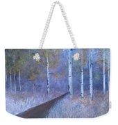 Lavendar Birch  Weekender Tote Bag