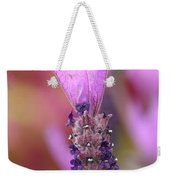 Lavendar Flower Weekender Tote Bag