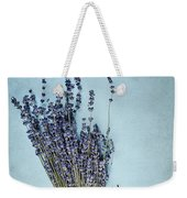 Lavender And Antique Scissors Weekender Tote Bag