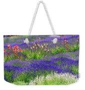 Lavender And Flowers Oh My Weekender Tote Bag