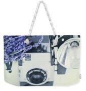 Lavender And Kodak Brownie Camera Weekender Tote Bag