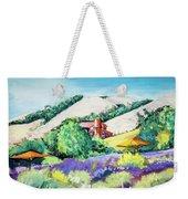 Lavender At Matanzas Creek Weekender Tote Bag
