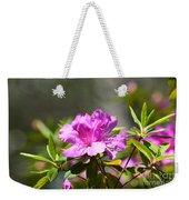 Lavender Rhododendrun Weekender Tote Bag