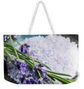Lavender Bath Salts In Dish Weekender Tote Bag