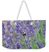 Lavender Beetle Weekender Tote Bag