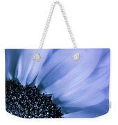 Lavender Blue Silk Weekender Tote Bag
