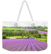 Lavender Farms In Sevenoaks Weekender Tote Bag