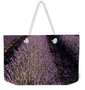 Lavender Field Provence France Weekender Tote Bag