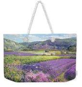 Lavender Fields In Old Provence Weekender Tote Bag