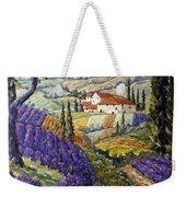 Lavender Fields Tuscan By Prankearts Fine Arts Weekender Tote Bag
