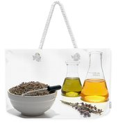 Lavender Flower Aromatherapy Scent Manufacturing Process Weekender Tote Bag