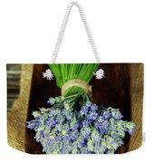 Lavender Flower  Weekender Tote Bag