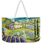 Lavender Hills Tuscany By Prankearts Fine Arts Weekender Tote Bag
