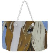 Lavender Horse Weekender Tote Bag