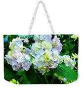 Lavender Hydrangea In Garden Weekender Tote Bag