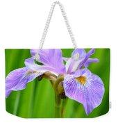 Lavender Iris Weekender Tote Bag