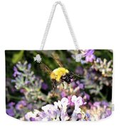 Lavender Landing Weekender Tote Bag