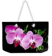 Lavender Orchids  Weekender Tote Bag