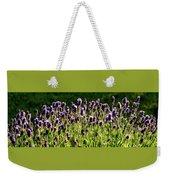 Lavender Pano Weekender Tote Bag
