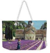 Lavender Picker - Abbaye Senanque - Provence Weekender Tote Bag