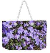 Lavender Rhododendrons Weekender Tote Bag