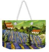Lavender Scene Weekender Tote Bag