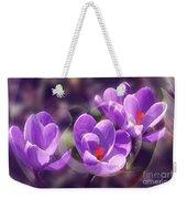 Lavender Spring Weekender Tote Bag