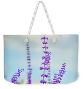 Lavender To The Sky Weekender Tote Bag