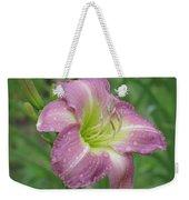 Lavender Vista - Daylily Weekender Tote Bag