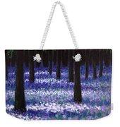 Lavender Woodland Weekender Tote Bag