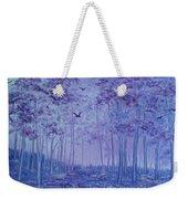 Lavender Woods Weekender Tote Bag