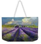 Lavenders Of South Weekender Tote Bag
