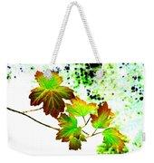 Lavish Leaves 4 Weekender Tote Bag
