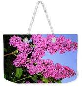 Lavish Lilacs Weekender Tote Bag