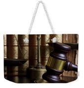 Law And Order Weekender Tote Bag