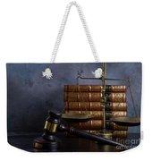 Law And Justice II Weekender Tote Bag