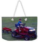 Lawnmower Boy Weekender Tote Bag