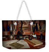 Lawyer - A Lawyers Desk Weekender Tote Bag