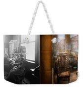 Lawyer - Always Taking Notes - 1902 - Side By Side Weekender Tote Bag
