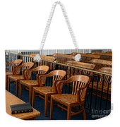 Lawyer - The Courtroom Weekender Tote Bag by Paul Ward