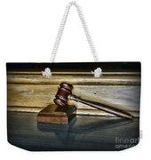 Lawyer - The Judge's Gavel Weekender Tote Bag