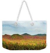 Layered Adirondack Colors Weekender Tote Bag