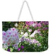 Layered Florals Weekender Tote Bag
