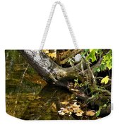 Layered Reflections Weekender Tote Bag