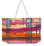 Layered Weekender Tote Bag