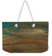 Layered Teal Sunset Weekender Tote Bag