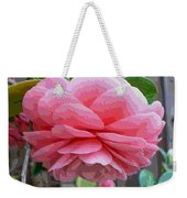 Layers Of Pink Camellia - Digital Art Weekender Tote Bag