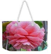 Layers Of Pink Camellia - Digital Art Weekender Tote Bag